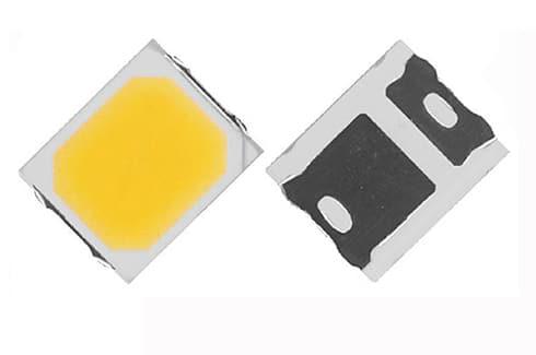 Светодиод smd 2835 мощностью 0.5 Вт