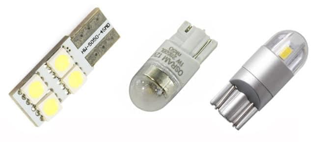 Светодиодные W5W