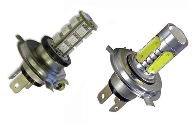 Светодиодная лампа H4