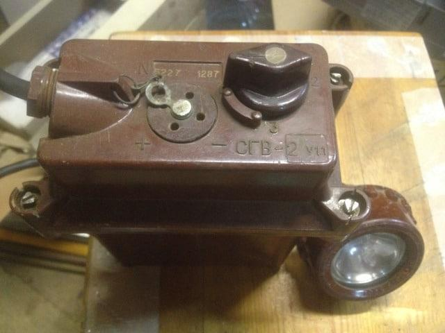 Взрывозащищенный фонарь СГВ-2
