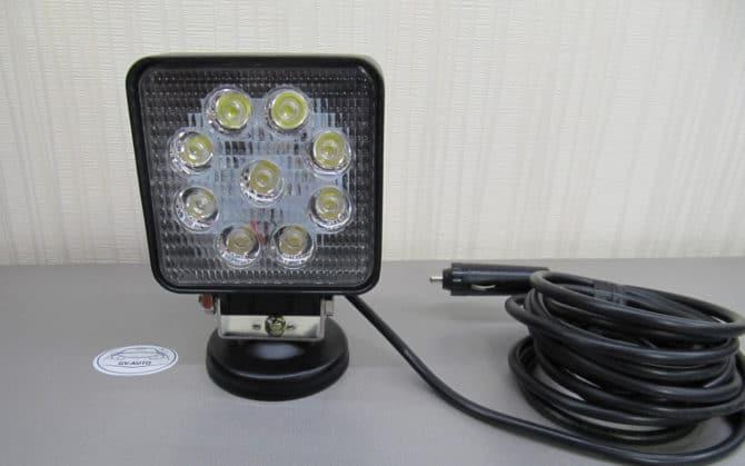 Автомобильный прожектор LED GV1210-27W