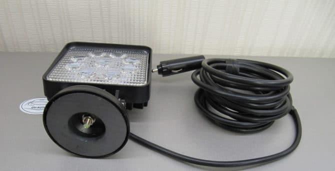 прожектора с магнитным креплением