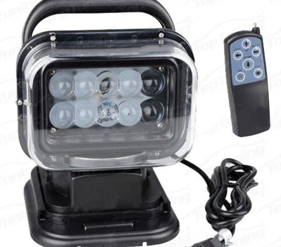 поворотный прожектор с пультом