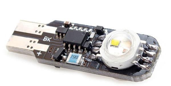 LED лампа - стробоскоп