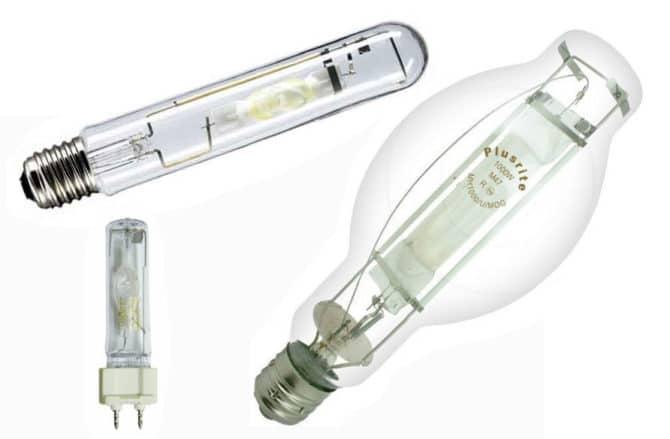 Метологалогенная лампы