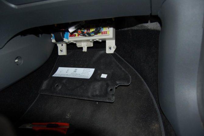 блока предохранителей Форд Фокус 2
