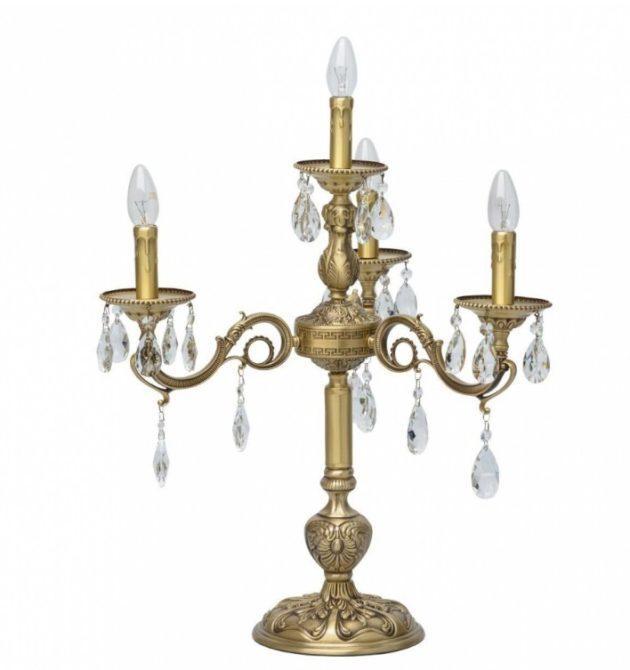 настольная лампа Chiaro Паула