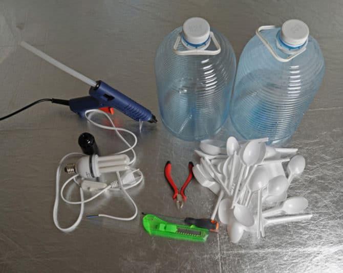 Материалы для изготовления плафона
