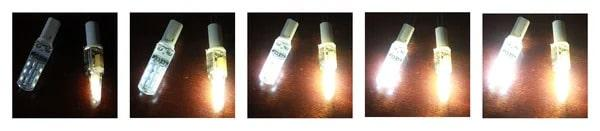 Мастер-класс как заменить галогенные лампочки 12в на светодиодные