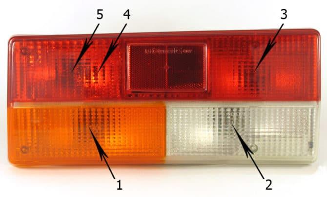 задний фонарь ВАЗ 2107