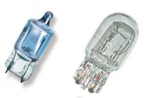 Галогенные лампочки W5W