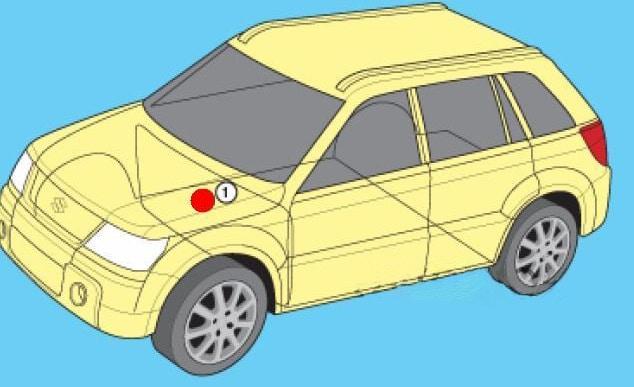 подкапотный монтажный блок Сузуки Гранд Витара