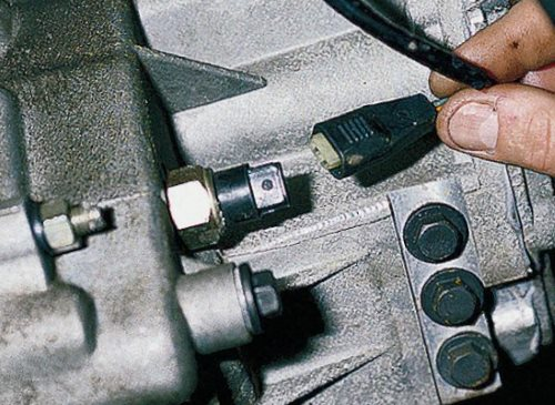 Проверка концевого выключателя