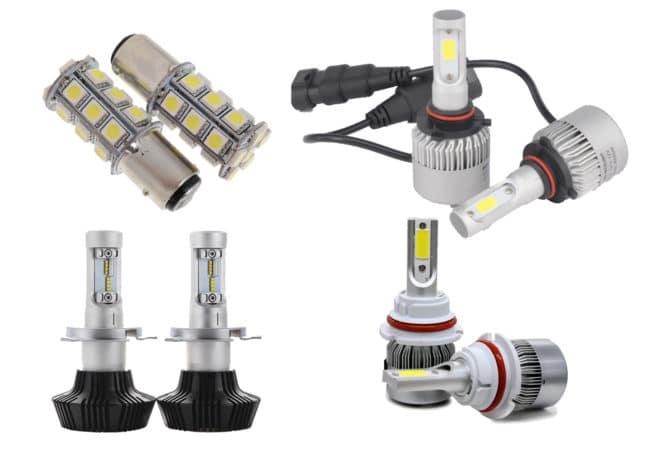 Светодиодные лампы SMD, COB