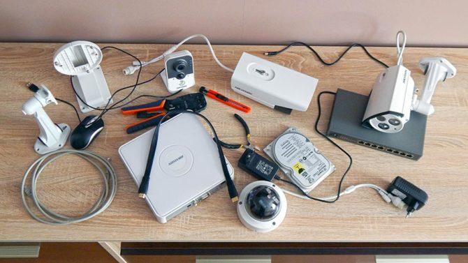 аппаратура для видеонаблюдения