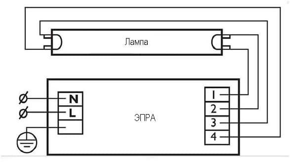 Стандартная схема подключения
