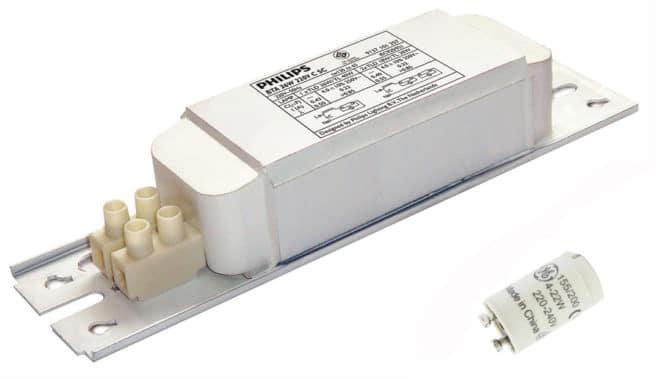 электромагнитный балласт и стартер