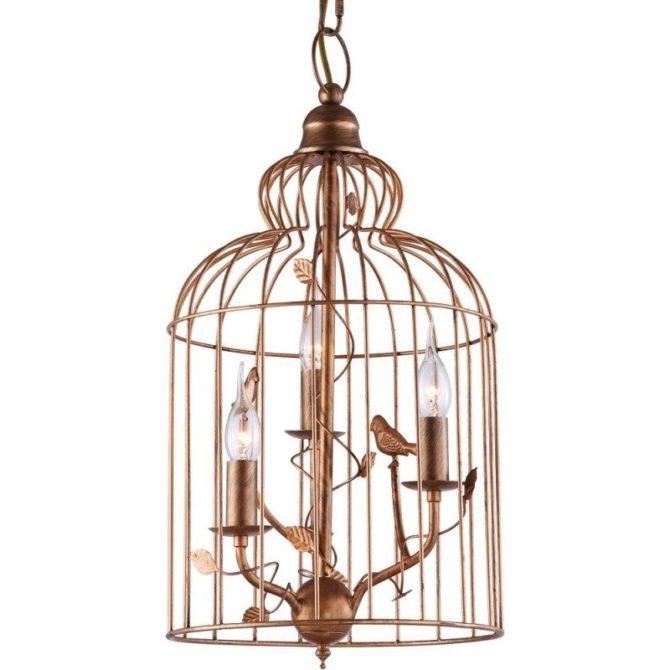 Какие бывают люстры с птичками