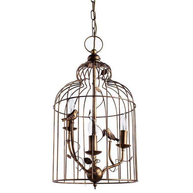 Arte Lamp Gabbia A1865SP-3BG