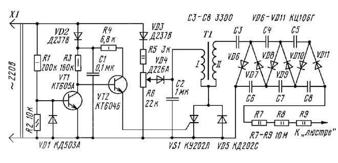 Что такое ионизатор-люстра Чижевского