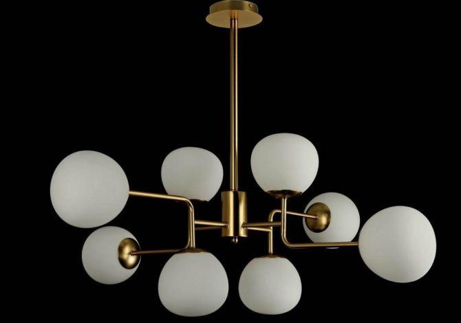 Обзор современных люстр в стиле модерн