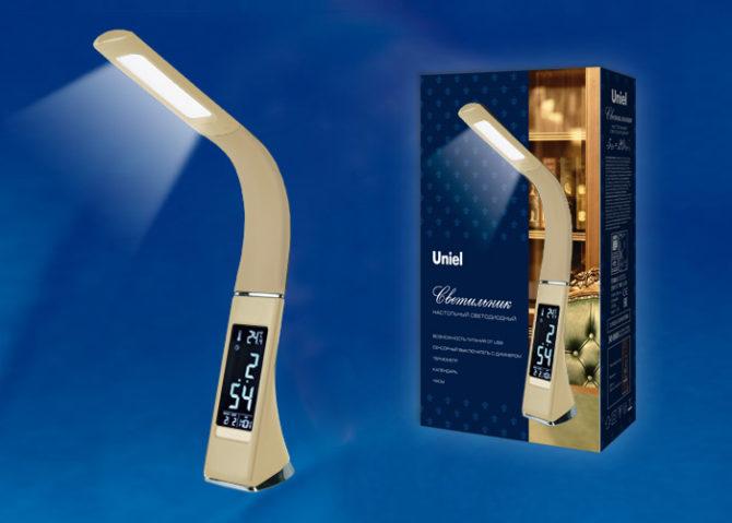 Обзор настольных светильников от компании Uniel