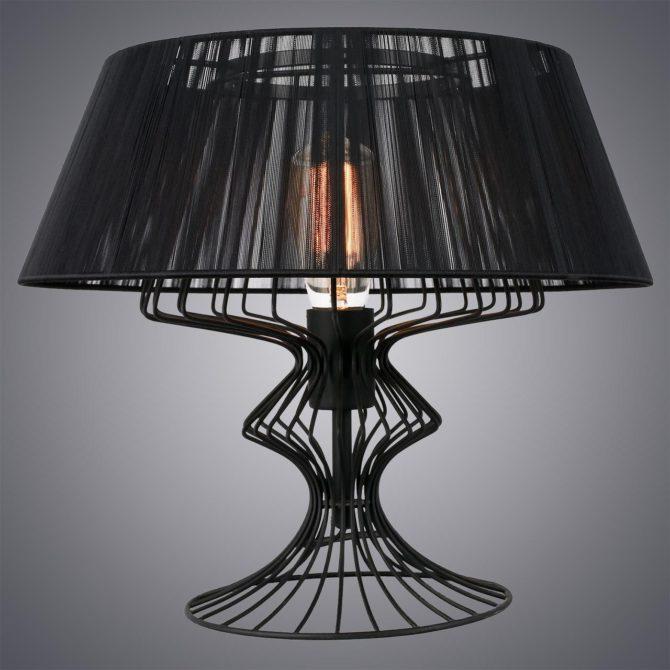 Обзор настольных ламп в стиле лофт - рейтинг интересных моделей
