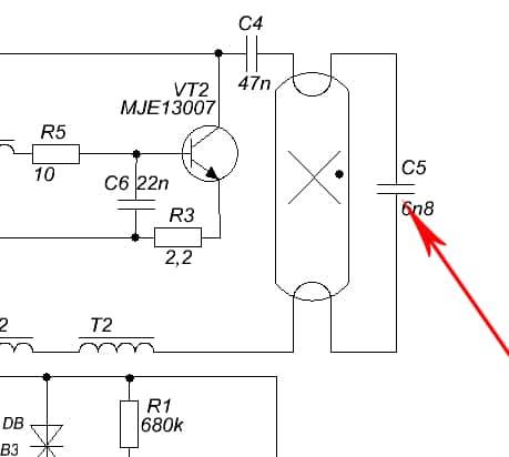 Устройство и принцип работы балласта для люминесцентных ламп