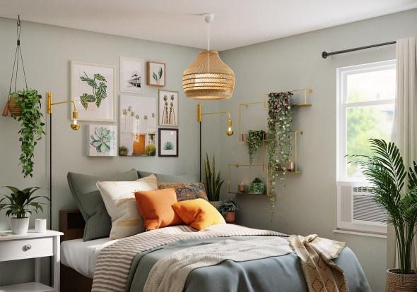 Как сделать освещение спальни в современном стиле