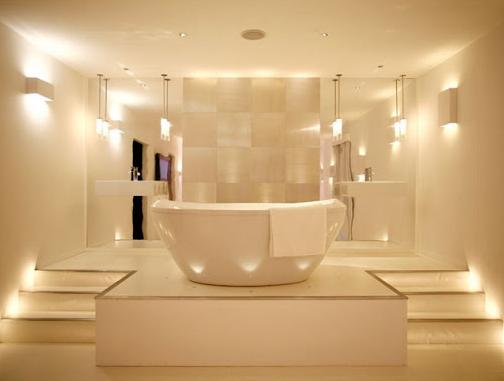 Как сделать свет в совмещенном санузле или маленьком туалете
